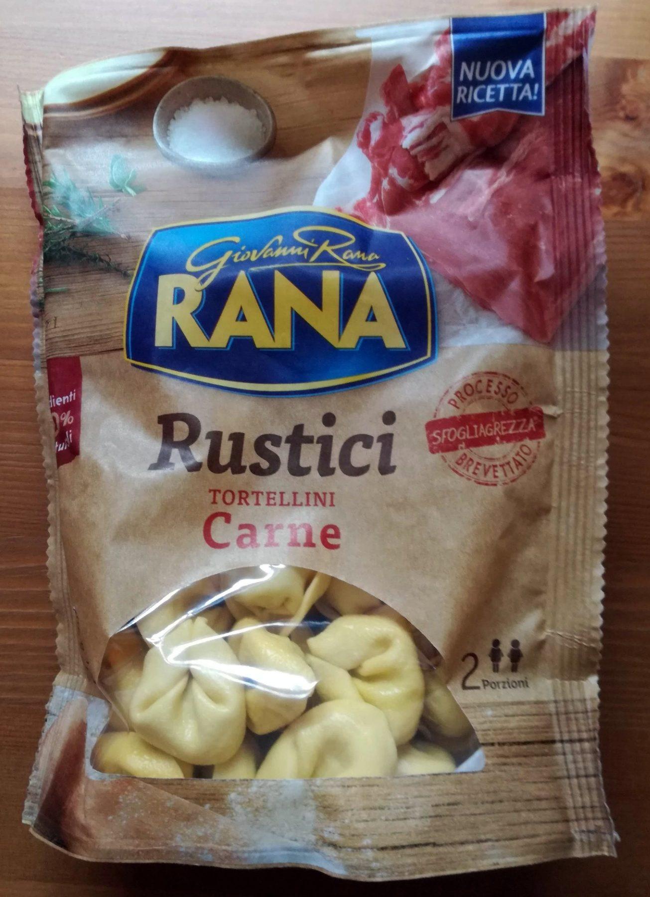 Tortellini di carne Rustici - Produit