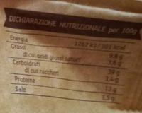 Tortellini di carne Rustici - Informations nutritionnelles