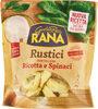 Rustici tortelloni ricotta e spinaci - Product