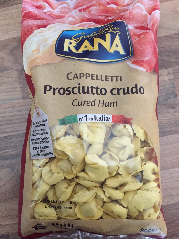 Cappelletti prosciutto crudo - Produit - fr