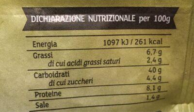 Gioiaverde funghi porcini - Informations nutritionnelles - fr