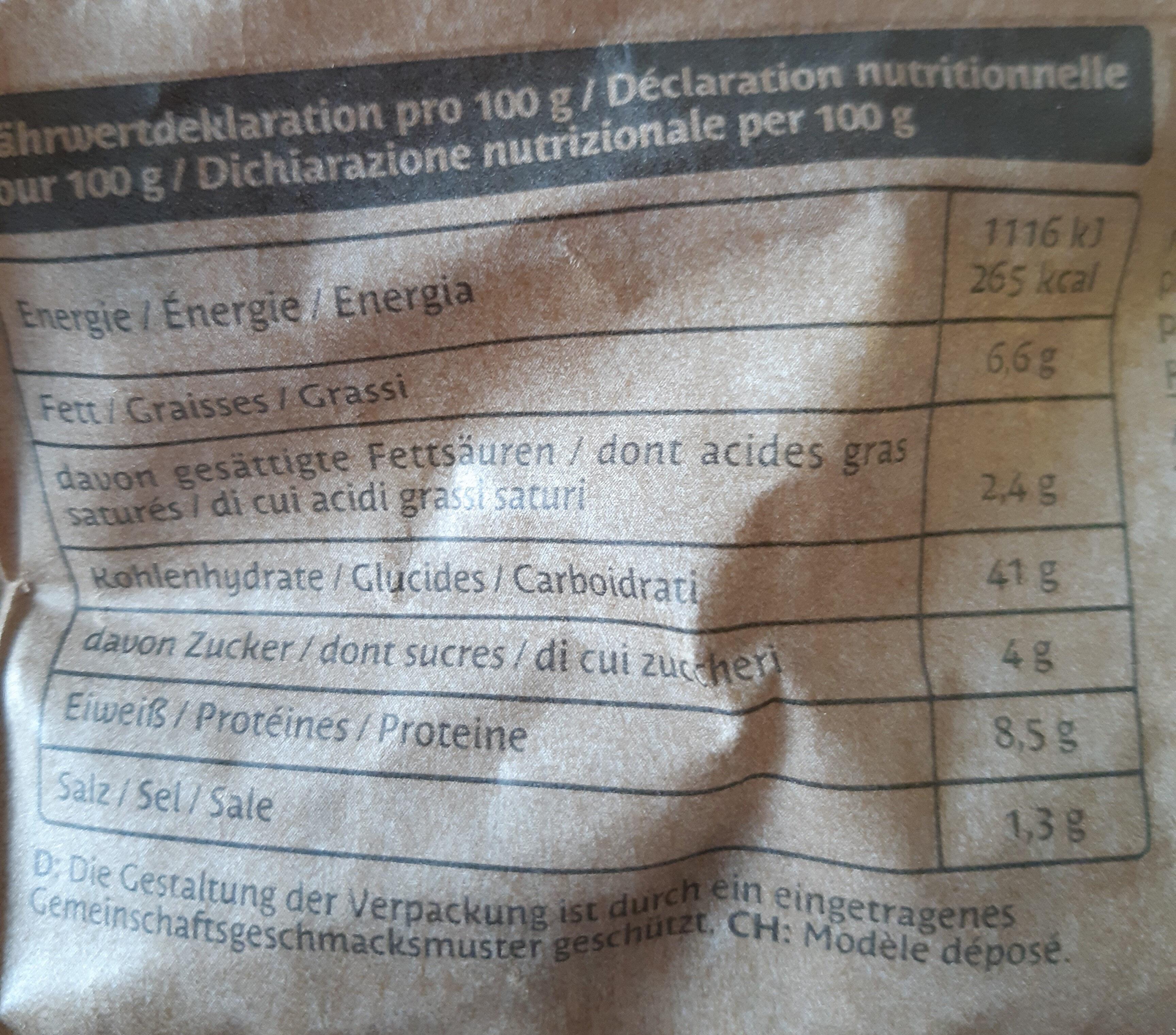 Ravioli Funghi Porcini mit Steinpilzen - Informazioni nutrizionali - de