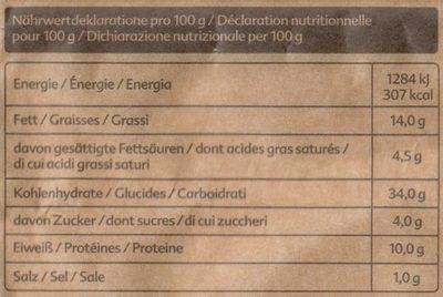 Tortellini Pesto-Basilico & Pinoli - Informazioni nutrizionali - it