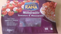 Millefeuille Tomates et Mozarella, Rana - Product