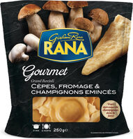Grand ravioli cèpes - Produit - fr