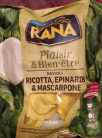Ravioli ricotta, epinards & mascarpone - Product