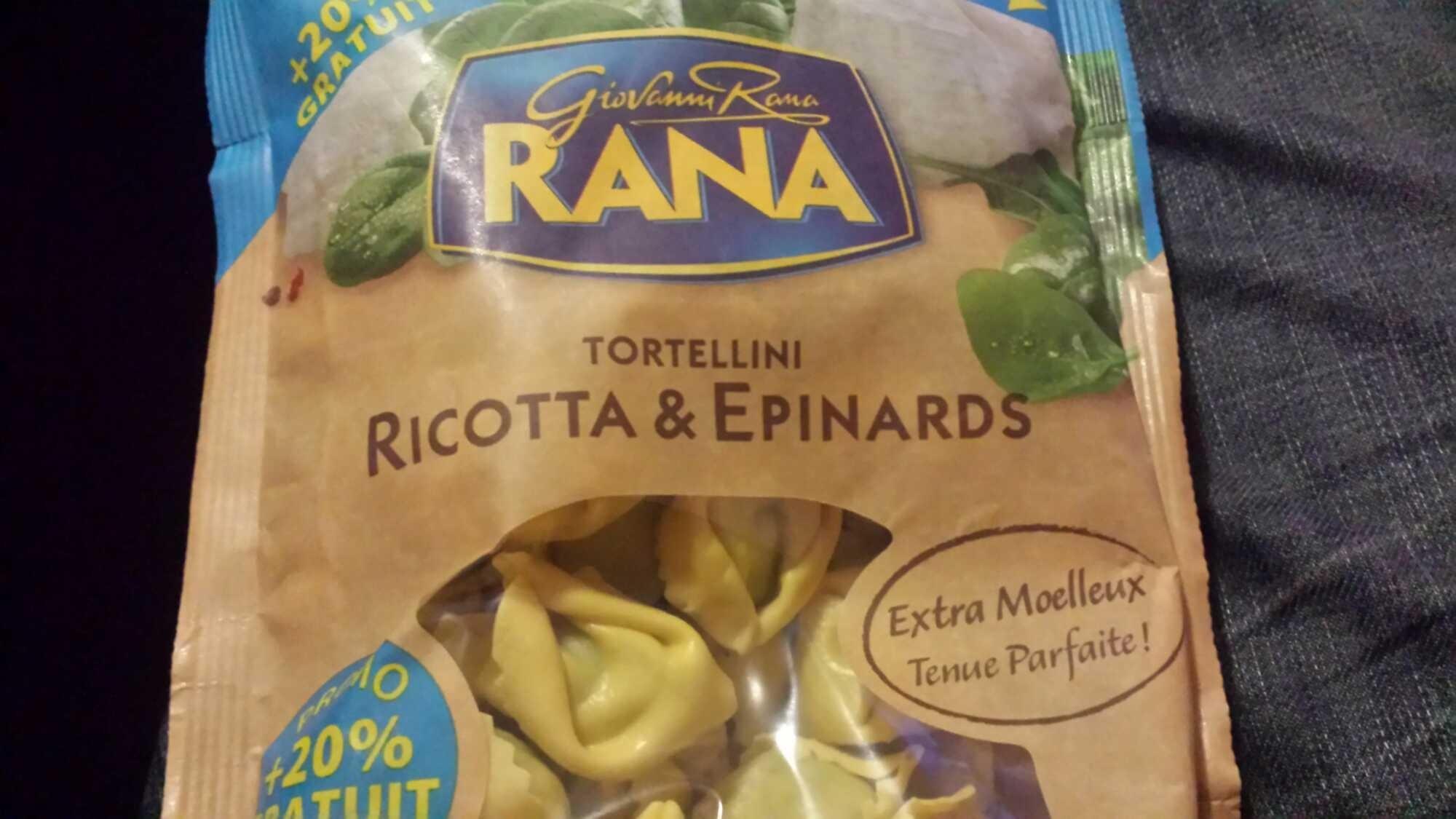 Tortellini Ricotta & Epinards +20% gratuit - Product - fr