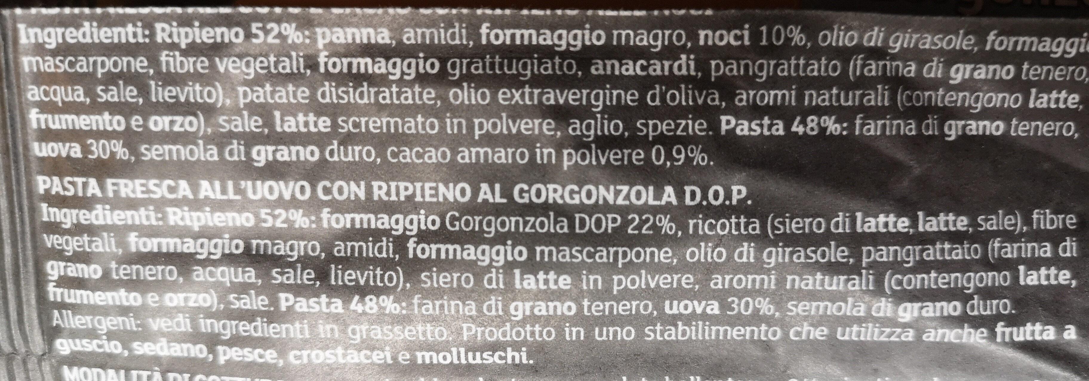 Duetto (Giovanni rana) - Ingrediënten - it