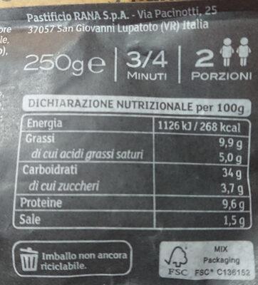 Duetto, asparagi in pezzi e parmigiano reggiano - Voedingswaarden - it