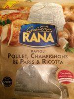 Ravioli Champignons De Paris & Ricotta - Product