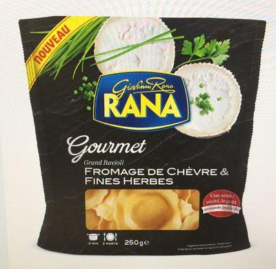 Gourmet Grand Ravioli Chèvre Fines Herbes - 6