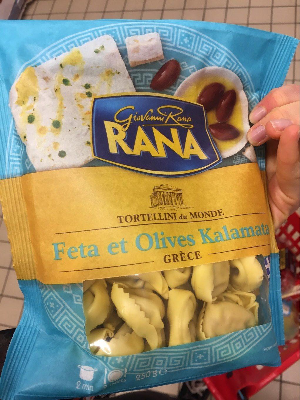 Feta et olives kalamata - Produit