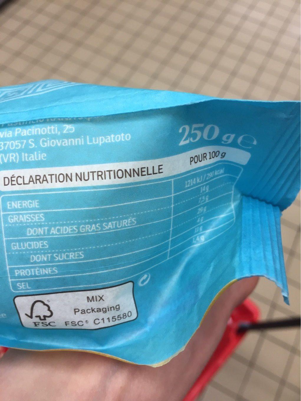 Feta et olives kalamata - Informations nutritionnelles