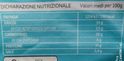 Feta e olive Kalamata - Informazioni nutrizionali