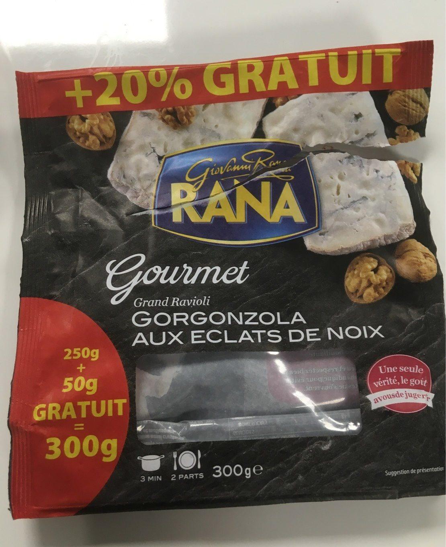 Grand ravioli gorgonzola aux éclats de noix - Produit - fr