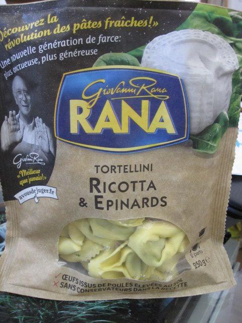 Tortellini Ricotta & Epinards - Produit