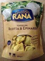 Tortellini ricotta et épinards - Producto - fr