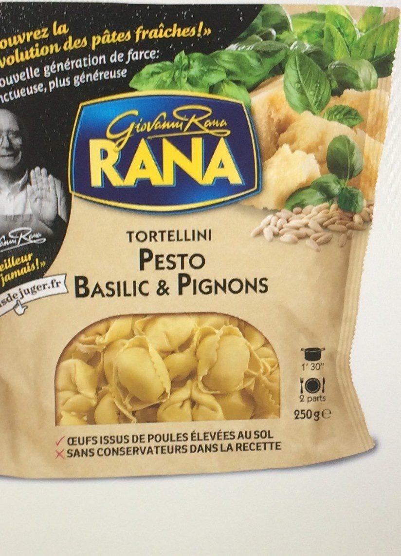 Tortellini Pesto Basilic & Pignons - Producto - fr
