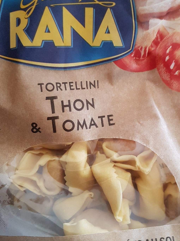 Tortellini thon tomate - Product - fr