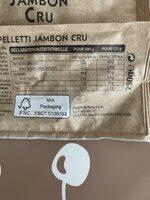 Cappelletti Jambon Cru - Instruction de recyclage et/ou informations d'emballage - fr