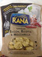 Tortellini Bacon, Ricotta & Mozzarella - Product - fr