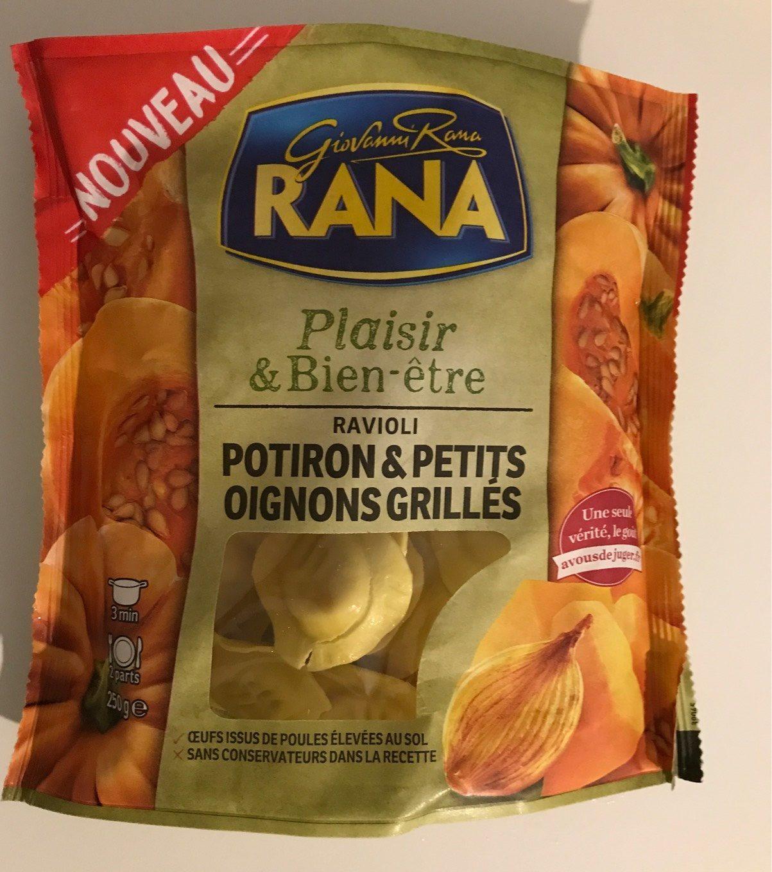 Raviolis potiron & petits oignons grillés - Produit - fr