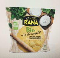 Pâtes Bio au Blé Complet Epinards, Ricotta et Fromage Burrata - Produit - fr