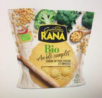 Pâtes Bio au Blé complet Crème de Pois Chiches et Brocoli - Product - fr