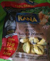 Tortellini pesto basilic  & pignons - Product - fr