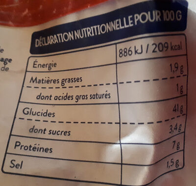Gnocchi à poêler tradition - Nutrition facts