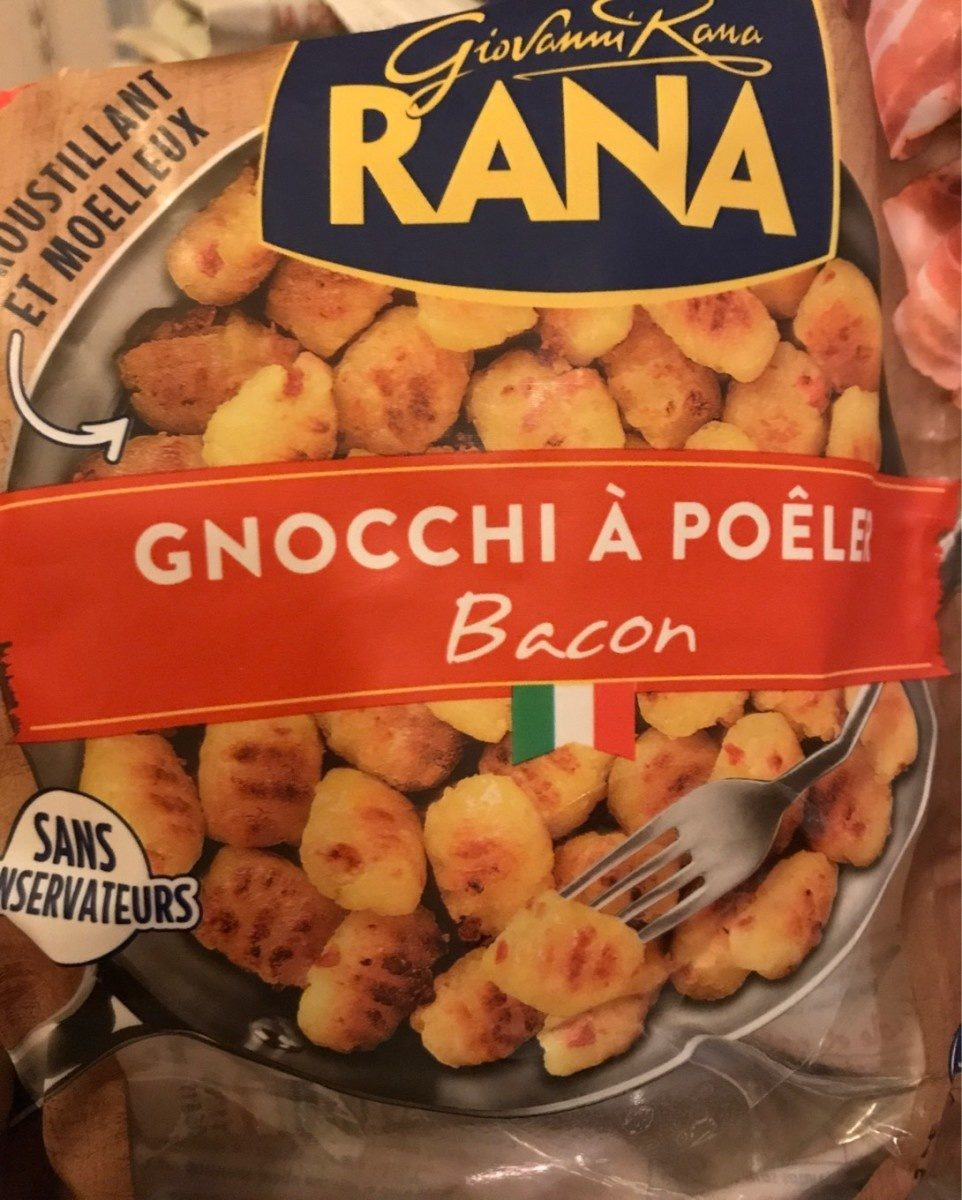 Gnocchi a poeler bacon - Product