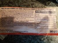 Gnocchis farcis à poêler - Ingrediënten