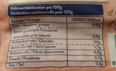 Gnocchi farcis - Nutrition facts - de