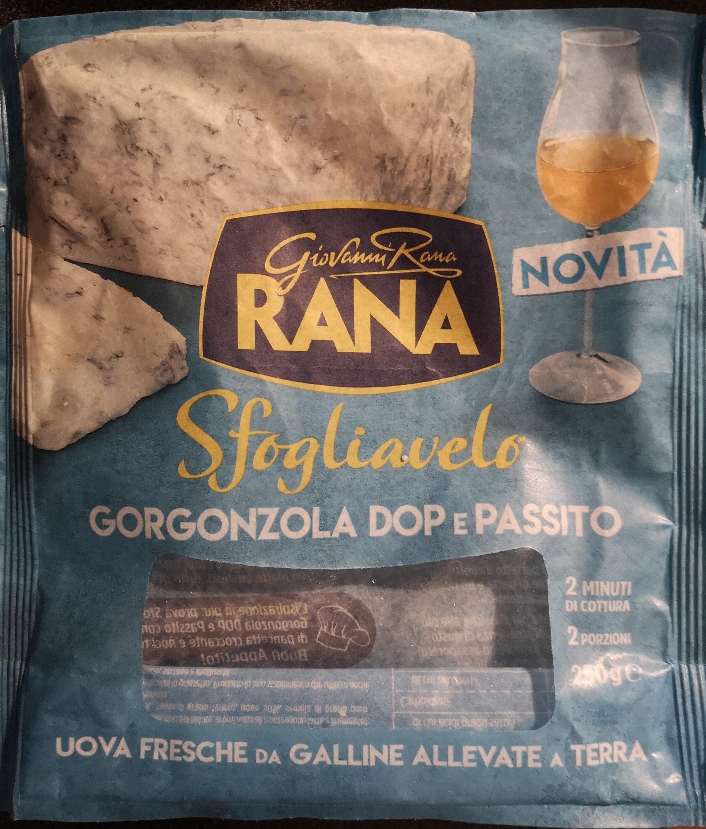 Sfogliavelo Gorgonzola DOP e passito - Product - it