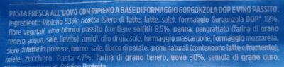 Sfogliavelo Gorgonzola DOP e passito - Ingrediënten - it