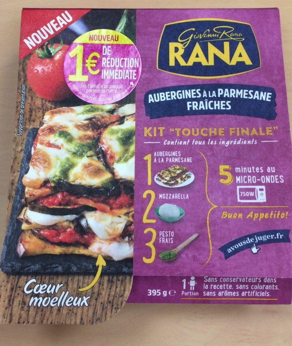 Aubergines à la Parmesane Fraîches - Product - fr