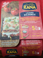 Lasagna bolognese - Product - fr