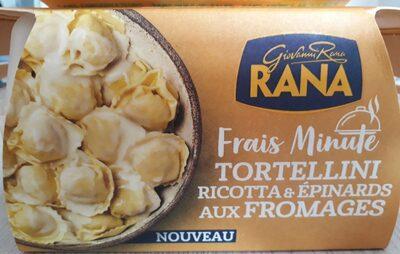 Tortellini ricotta & épinards aux fromages - Product - fr