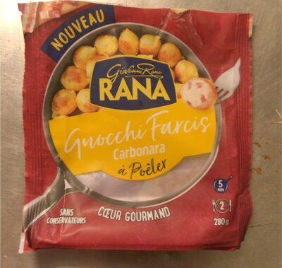 Gnocchi farcis carbonara - Produit - fr