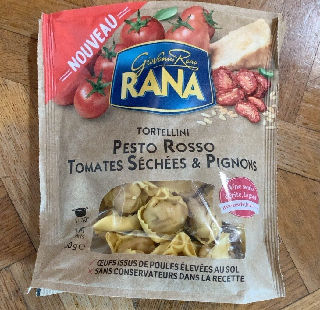 Tortellini Pesto Rosso Tomates Séchées & Pignons - Product - fr