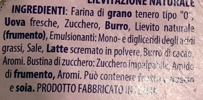 Il Pandoro di Verona - Ingredienti - it