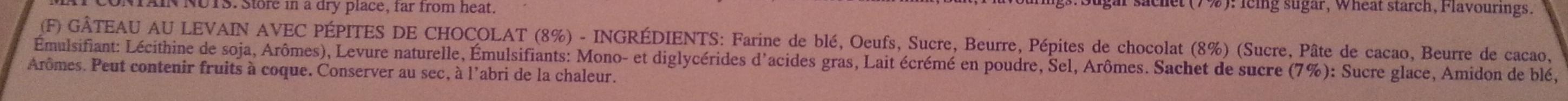 CiocoSoffice - Ingrediënten - fr