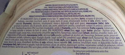 Stracciatella - Ingrédients