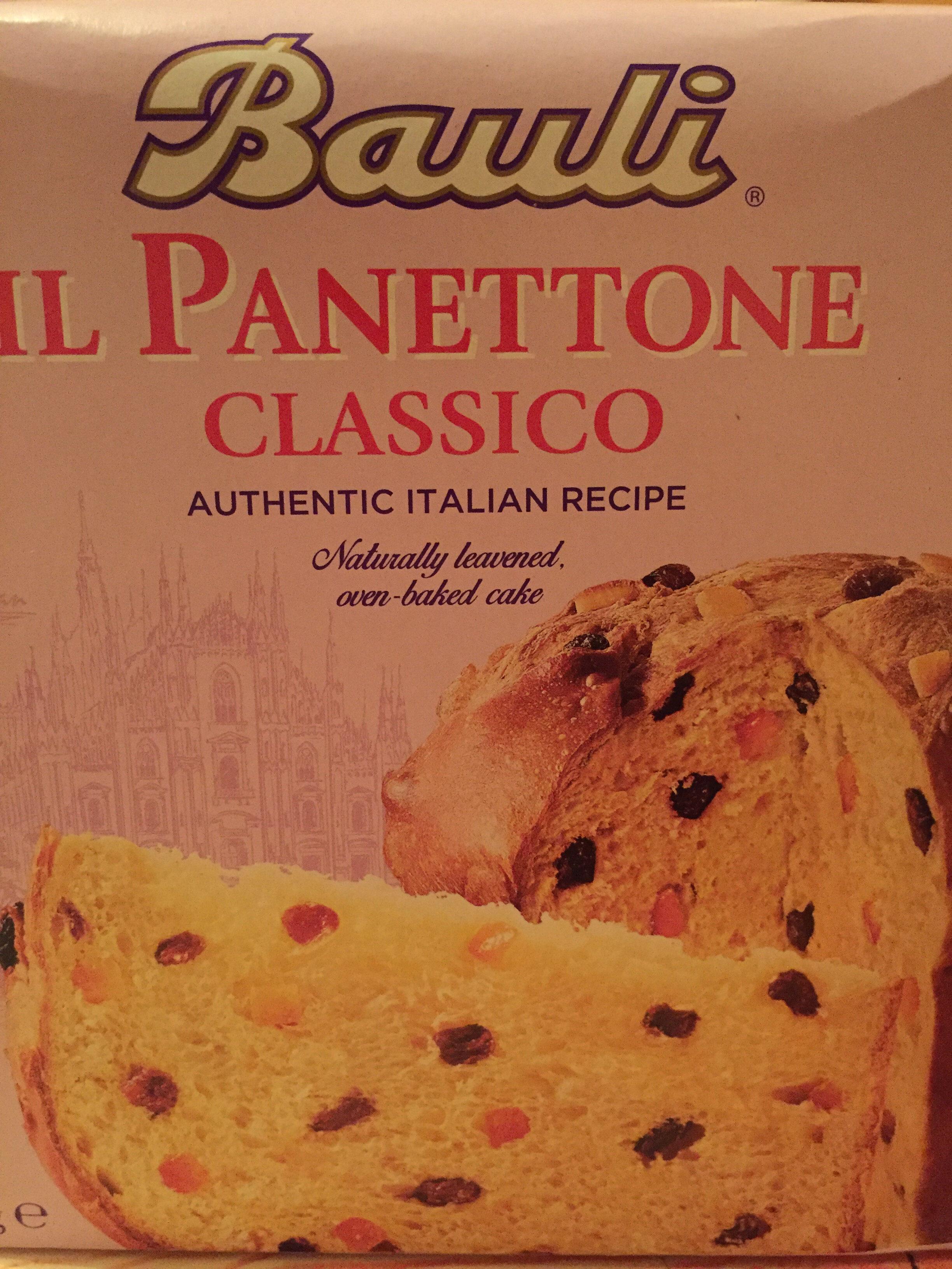 Bauli Il Panettone 750G - Produit