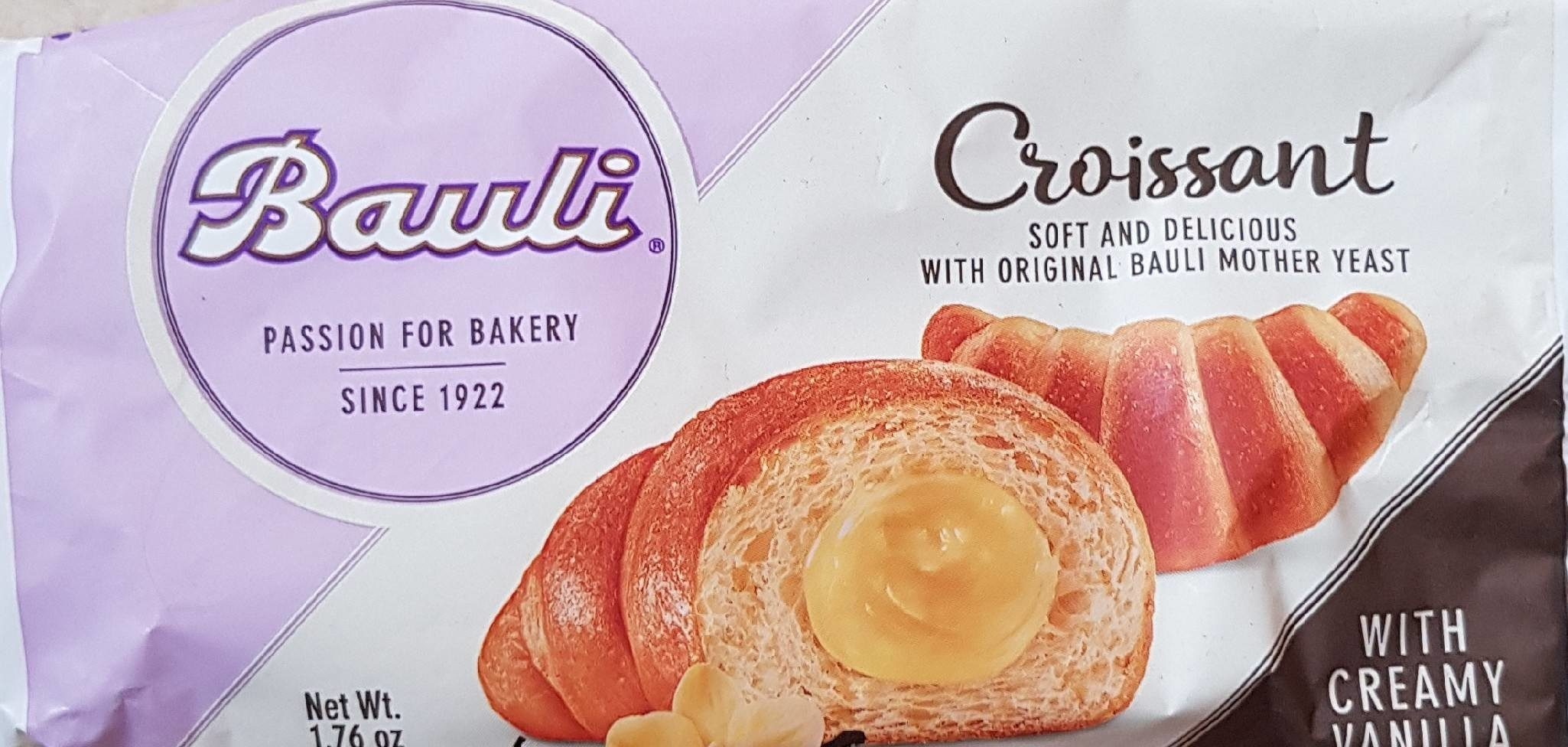 Croissant with creamy Vanilla filling - Produit - fr