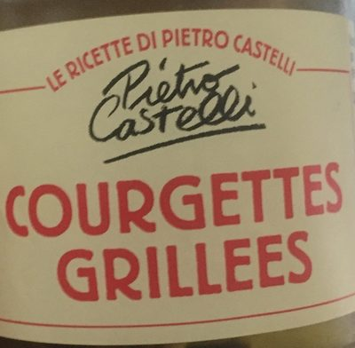 Courgettes grillees - Product - fr