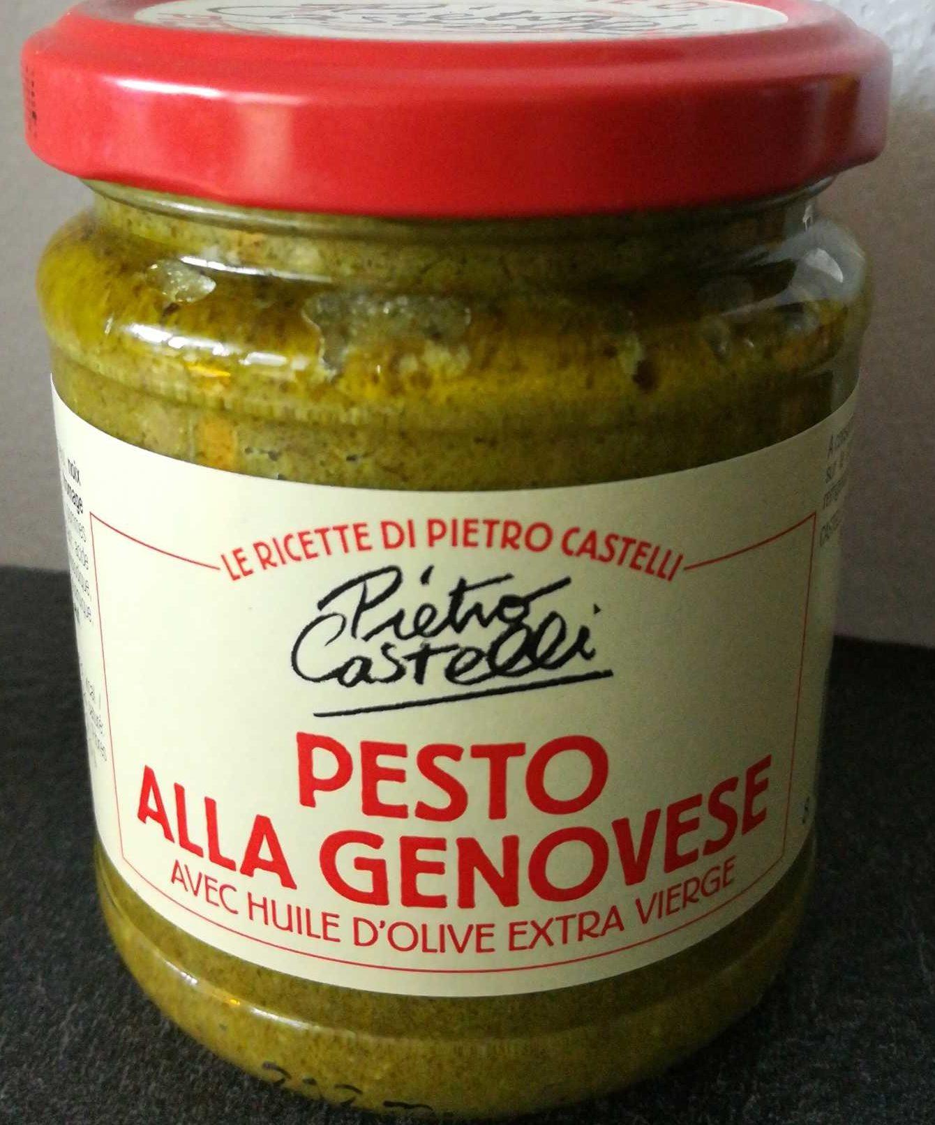 Sauce Pesto Alla Genovese 190 G - CASTELLI - Product - fr
