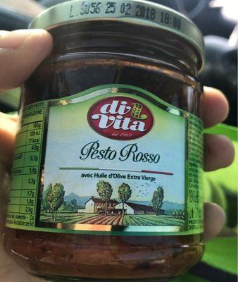 190G Sauce Pesto Rosso Di Vita - Product