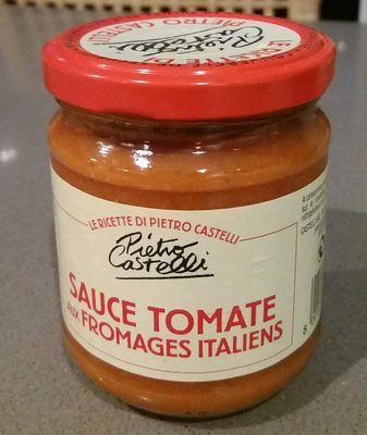 Sauce tomate aux Sauce Tomate Aux Fromages Italiens - Product - fr