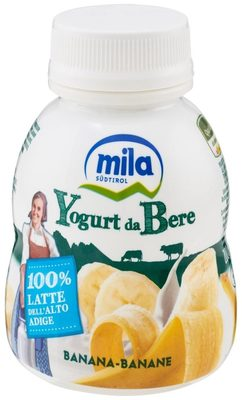 Mila Yogurt da bere banana - Product